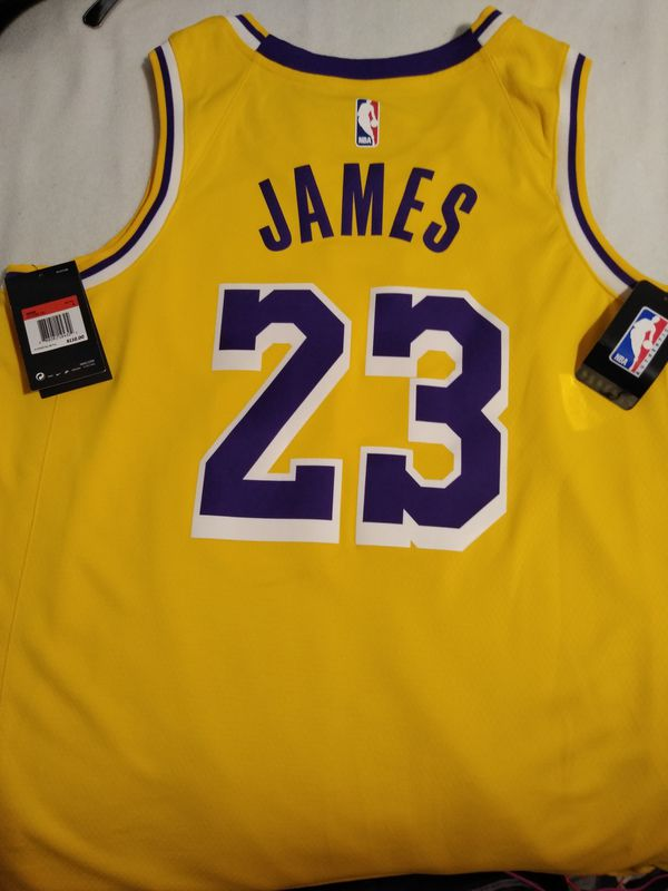 0507f043c87 Men s 48 Large LeBron James Lakers jersey. New never worn for Sale ...