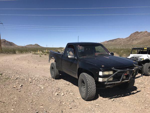 94 Chevy Silverado 4x4 Prerunner For Sale In Henderson Nv Offerup