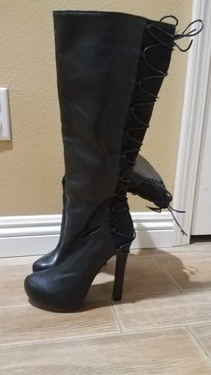 ee89d90084a7 Black knee high boots for Sale in Murrieta