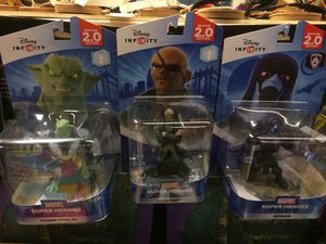 Lot Toy Disney infinity 2.0 figures for Sale in Rosedale, MD