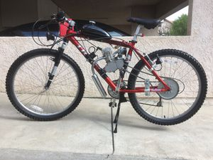 3a3babb0114 Trek bike modified and install a new gasoline engine for Sale in Placentia,  CA