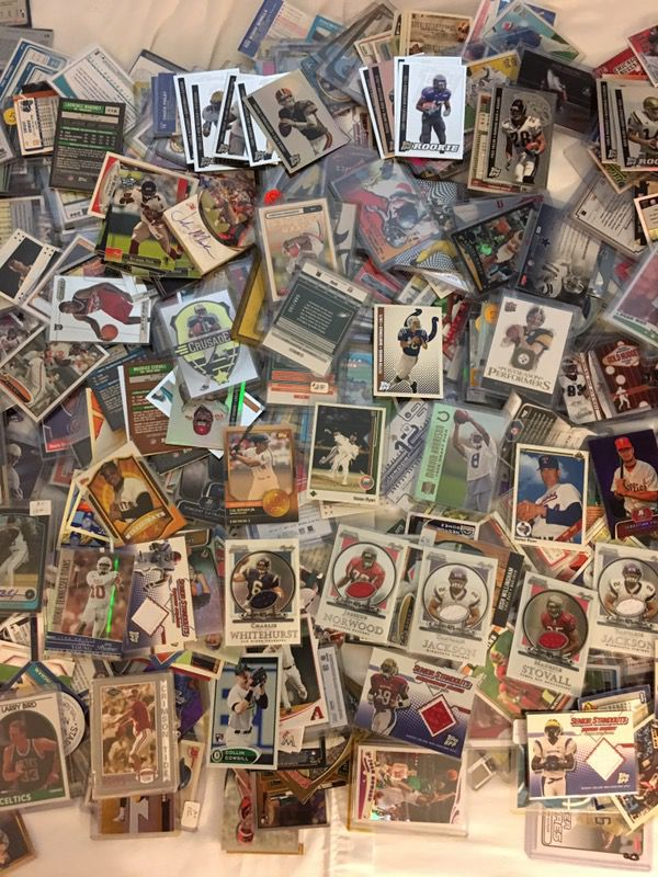 Sports card collection w/game used/autographs/rookies