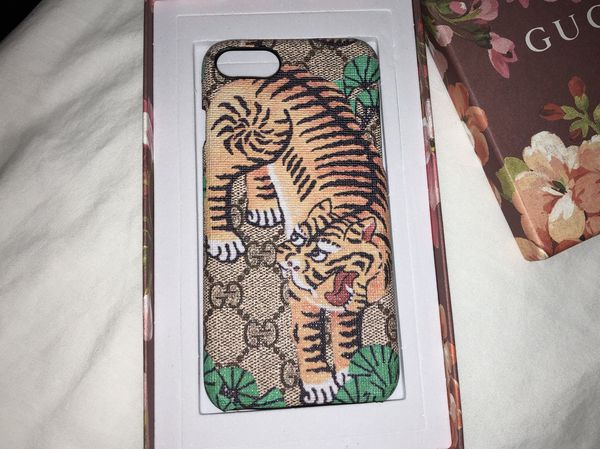 low priced 8b2b0 75298 Gucci Bengal Tiger IPhone 7/8 Case for Sale in Washington, DC - OfferUp