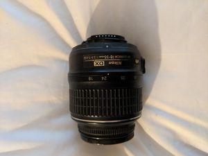 Nikon 18-55mm lense. good for beginner photography. OBO for Sale in Carlsbad, CA