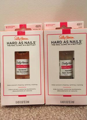 Sally Hansen Hard as Nails hardener for Sale in Alexandria, VA