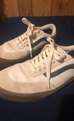 Vans old skool white   brown for Sale in Lake Elsinore 59d5cabfe