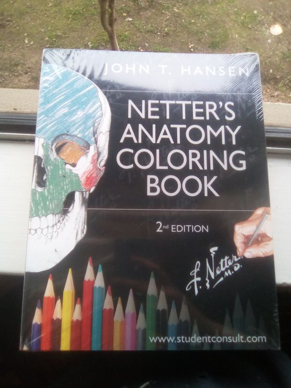Netter\'s Anatomy Coloring Book for Sale in Fresno, CA - OfferUp
