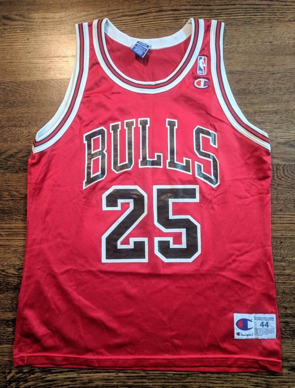 Steve Kerr Champion Jersey 44 Vintage Bulls Rare for Sale in Oakland ... c620f5e50f8d