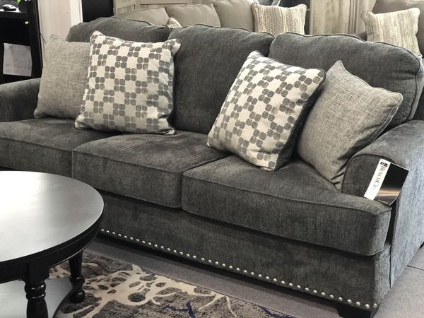 studded ashley sofa for sale in west sacramento, ca - offerup