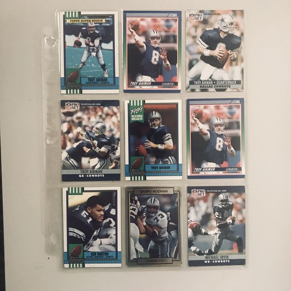 Baseball Cards Troy Aikman Rookie Card For Sale In Costa Mesa Ca Offerup