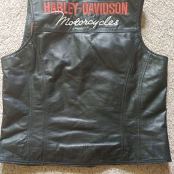 Women's Harley Davidson Vest Thumbnail