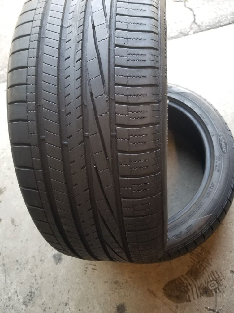 Used tires 245/45/19