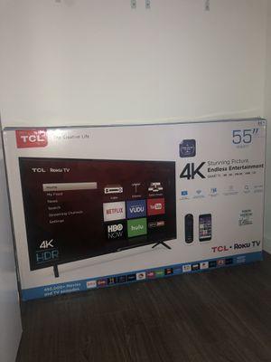 Brand new 55' TCL smart TV $400 for Sale in Miami, FL