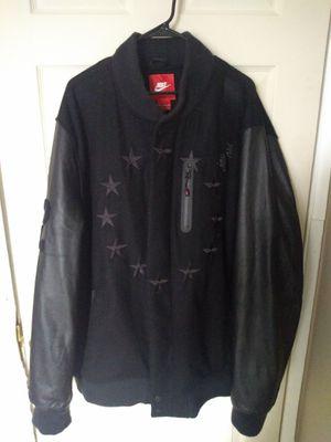 Size 4× leather Nike jacket for Sale in Manassas, VA