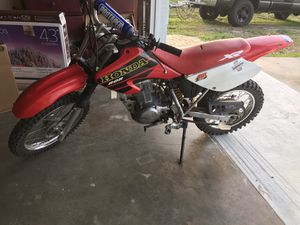 Photo Honda 80 r dirt bike