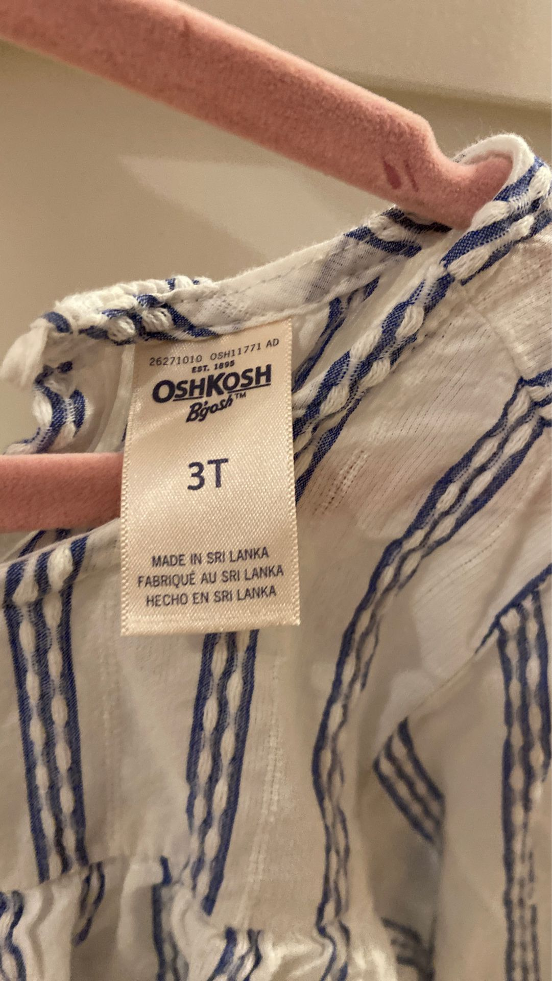 Oshkosh 3T blouse