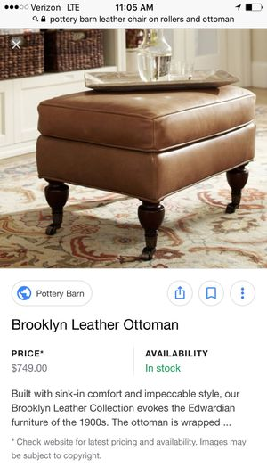 Enjoyable Pottery Barn Leather Chair For Sale In Irvine Ca Offerup Caraccident5 Cool Chair Designs And Ideas Caraccident5Info