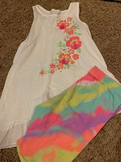 Girls size 6 summer outfit Thumbnail
