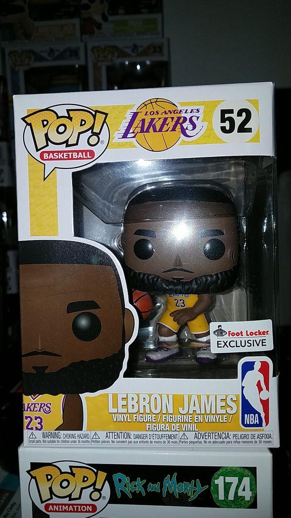 8d5bed77d64 Lebron James footlocker funko pop for Sale in Richmond