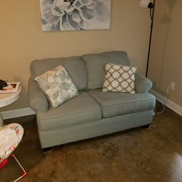 Ashley Furniture Daystar Sofa Loveseat Color Seafoam Southaven Ms