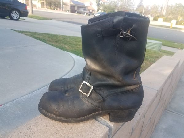 8dfc3b1e05aadd Vintage Harley Davidson Motorcycle Riding Boots Size 11-1 2 for Sale in Rancho  Cucamonga