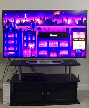Vizio 50 inch m-series led smart hdtv + TV Stand + DVD Player for Sale in Ellicott City, MD