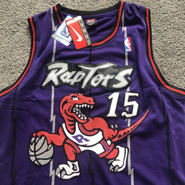 buy popular 0e4fb 90a47 NEW! Vince Carter #15 Toronto Raptors Throwback Purple Jersey - Size  X-Large (XL) Meet Now or Ships Same Day! for Sale in Minneapolis, MN -  OfferUp