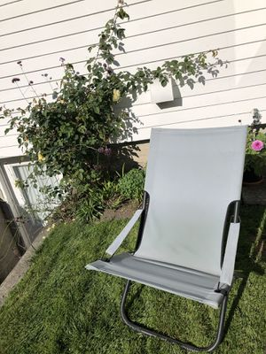 Folding sling chair for Sale in Tacoma, WA