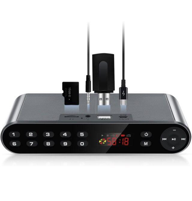 Bluetooth/FM Radio/MP3 Player Portable Wireless Speaker