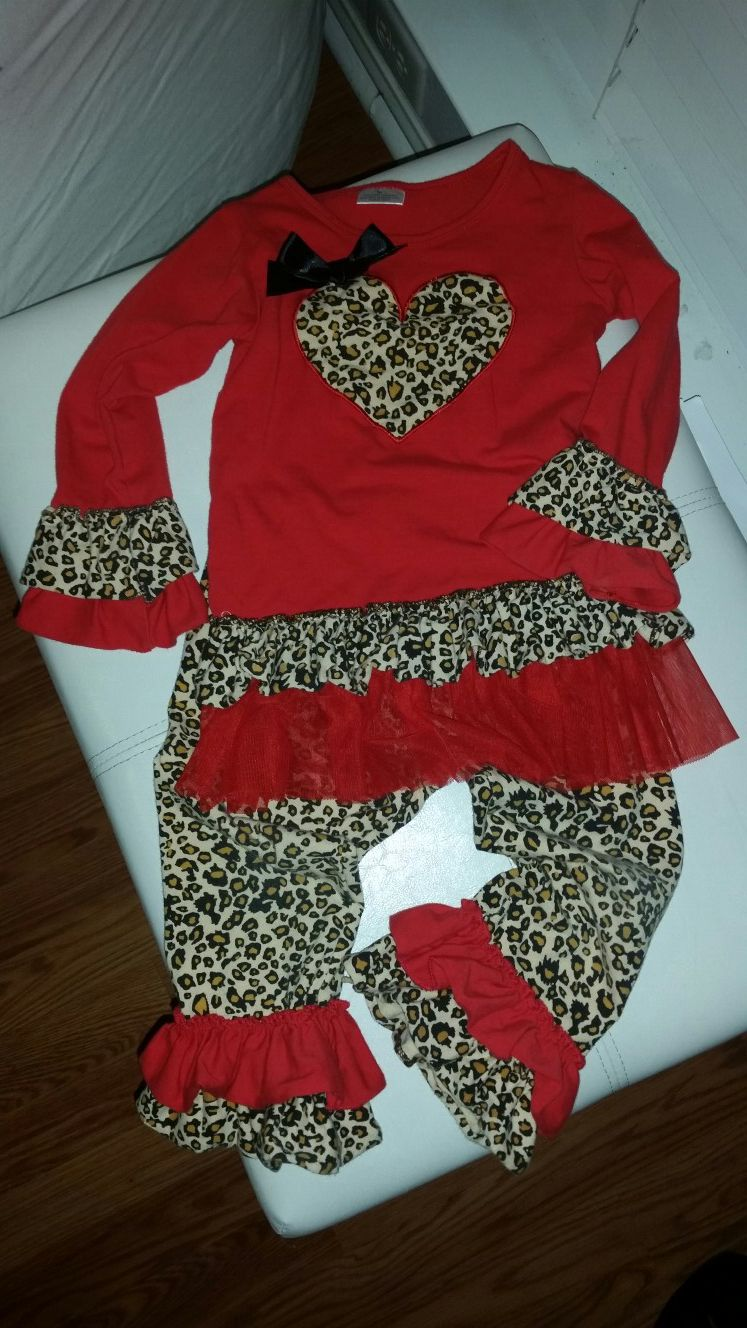 Valentine's day boutique outfit