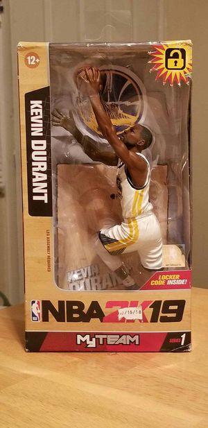 NBA2K19 Kevin Durant Figurine for Sale in Halethorpe, MD