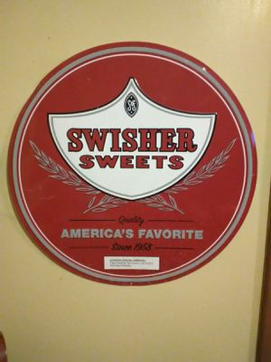 Tin Swisher sign for Sale in Cleveland, OH
