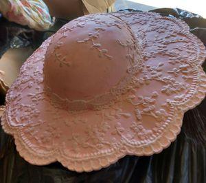 Pink Porcelain Hat for Decor for Sale in Glen Burnie, MD
