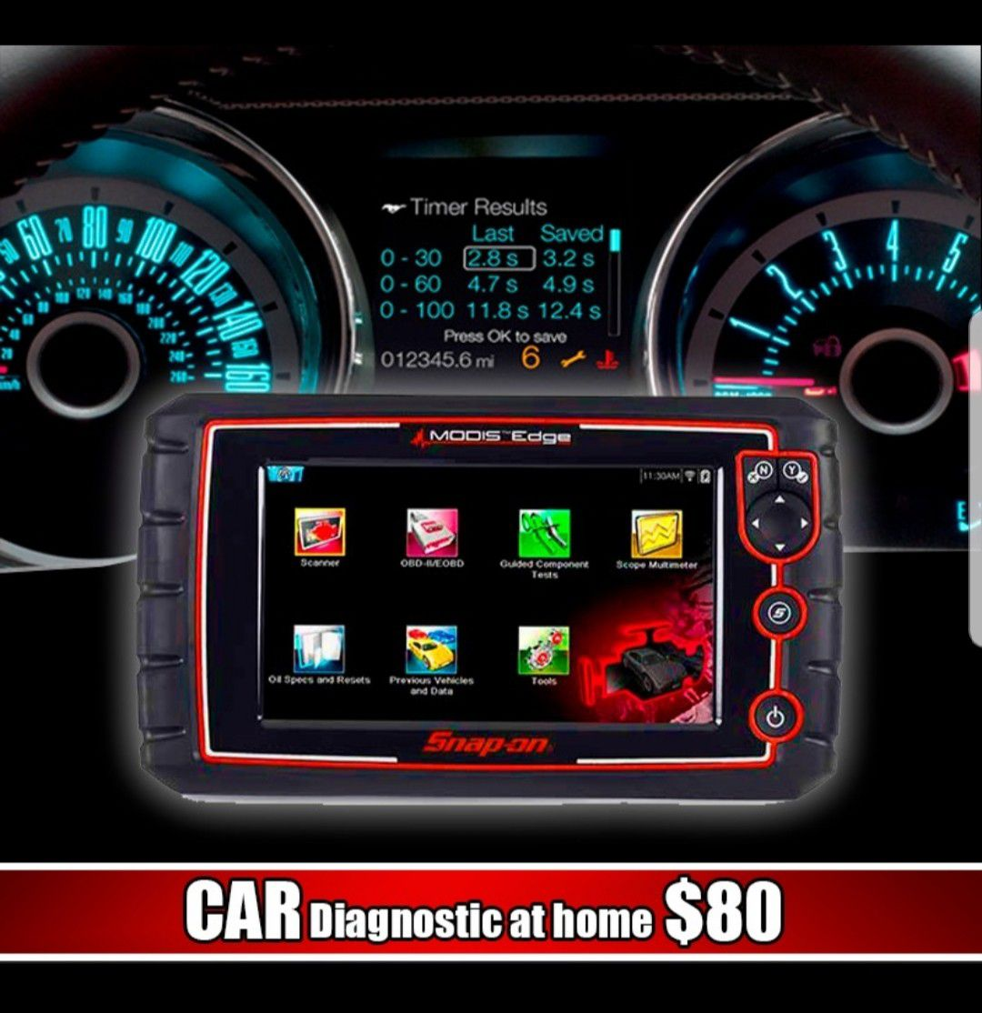 Scan your car at home
