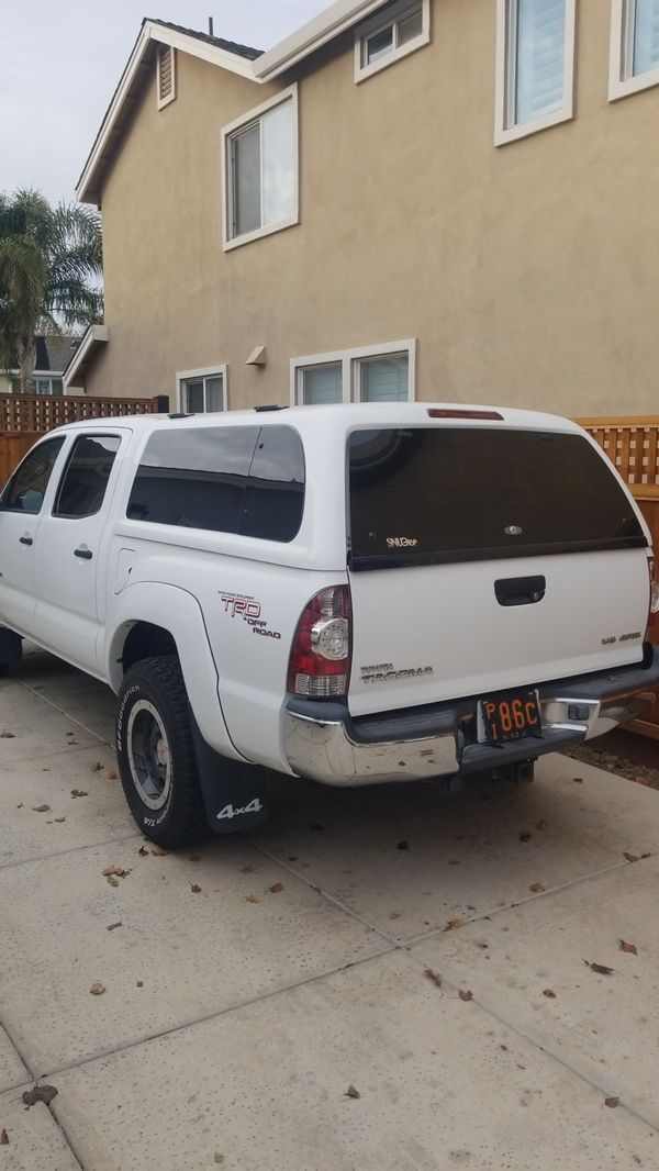 Snugtop Camper Shell For 2005 To 2015 Toyota Tacoma Will Sell Truck