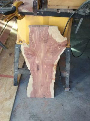 Live edge Cedar slabs for Sale in Arnold, MO