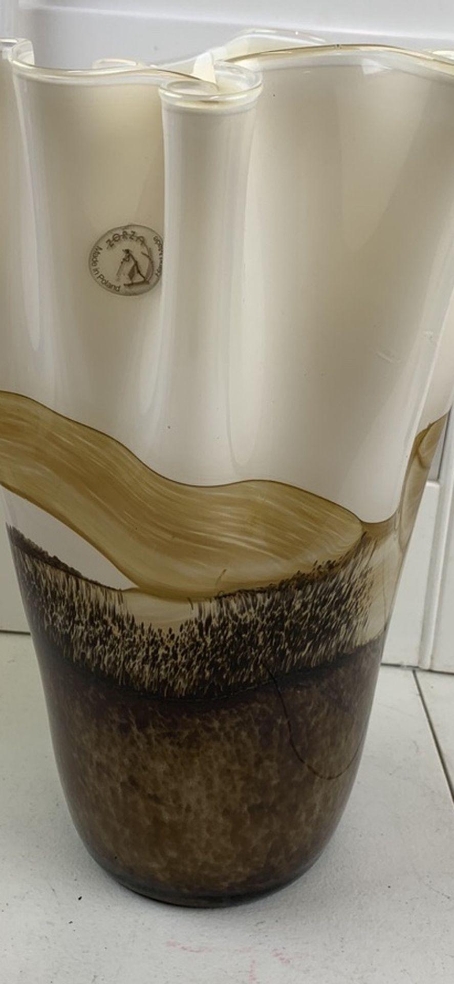 Zorza Glass Vase
