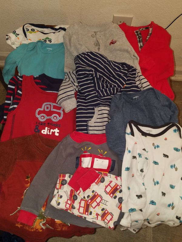 616a4cc331cf 20 PC Baby Boy Clothes 6-9 months for Sale in Tampa