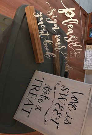 Wedding Signs for Sale in Lynchburg, VA