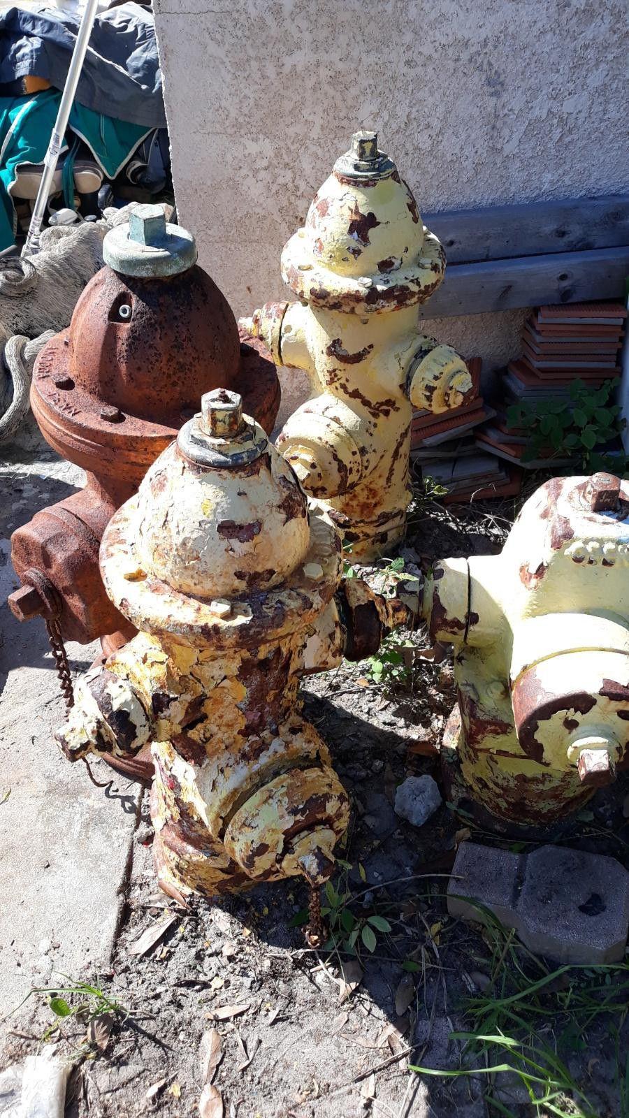 Hydrants $125/each