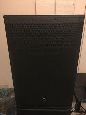 2 Mackie SRM 650 1600WATT HD Speakers for Sale in Orlando, FL