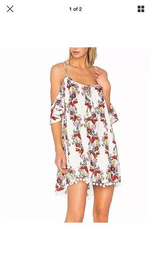 Photo Show me your mumu cold shoulder floral mini dress