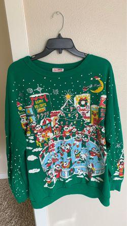 Cute Funny Panda Christmas Sweater Thumbnail
