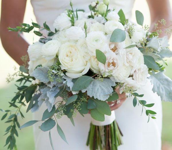 Fresh Flower Wedding Bouquet
