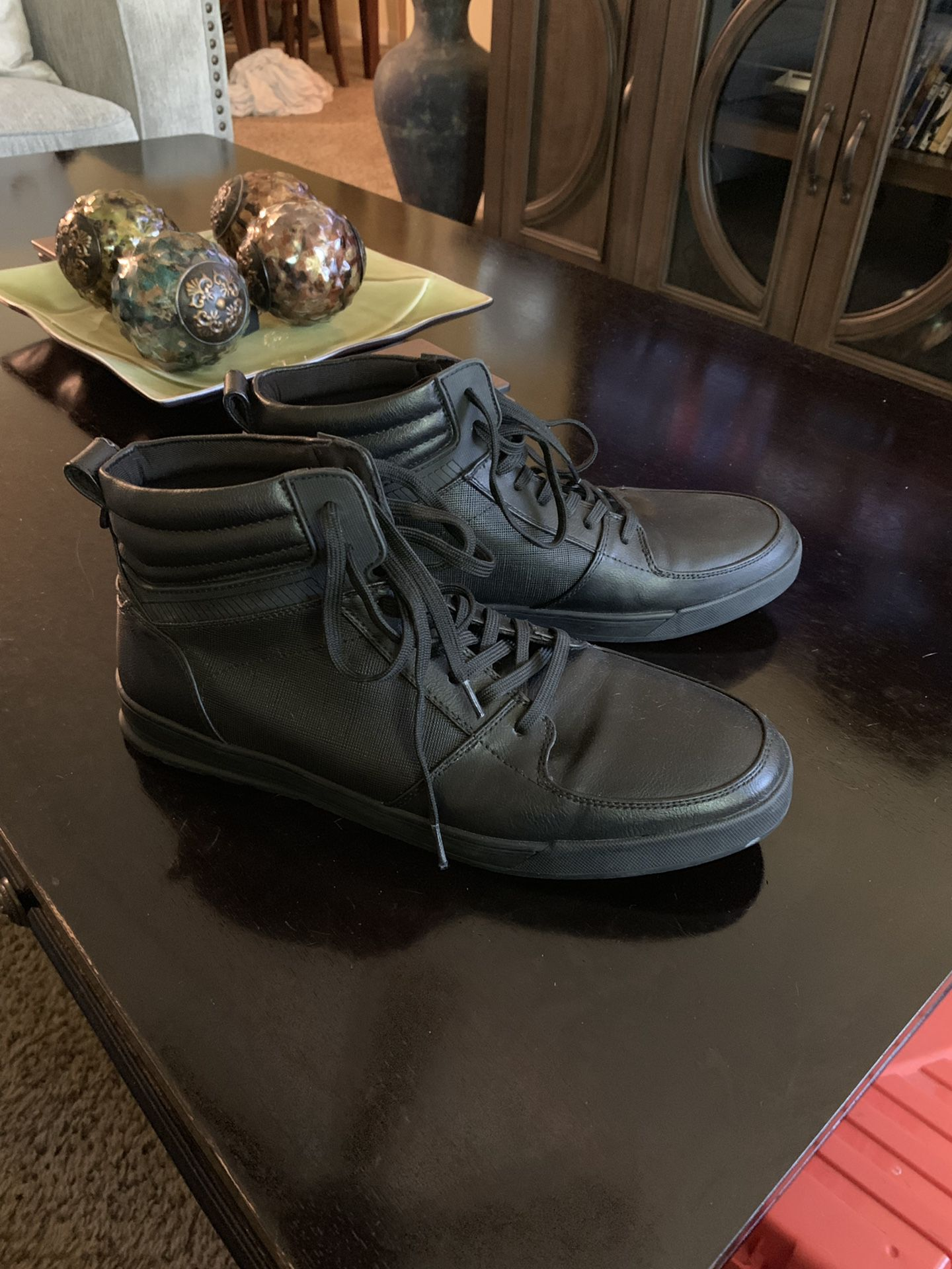 Men's Aldo causal shoes (Black)