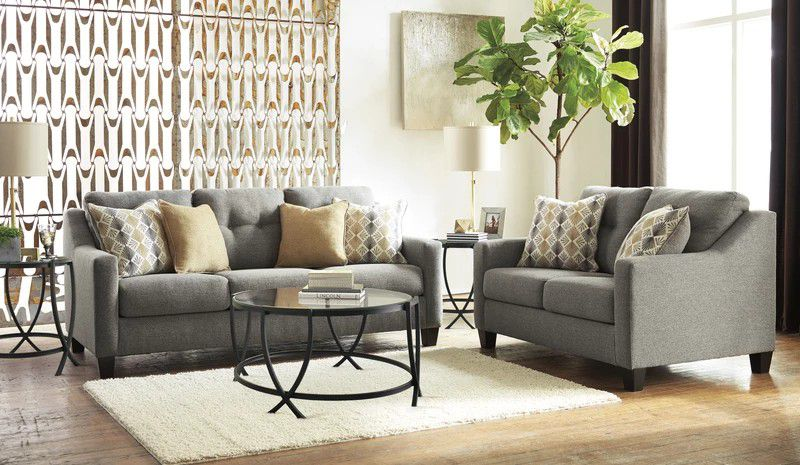Daylon Graphite Queggen Sofa Sleeper   42304