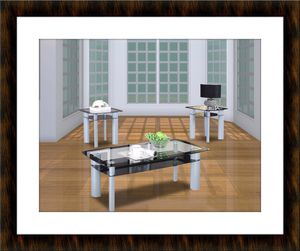 Glass coffee table 3pc set for Sale in Fairfax, VA