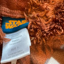 Chewbacca Onesie Size M Thumbnail