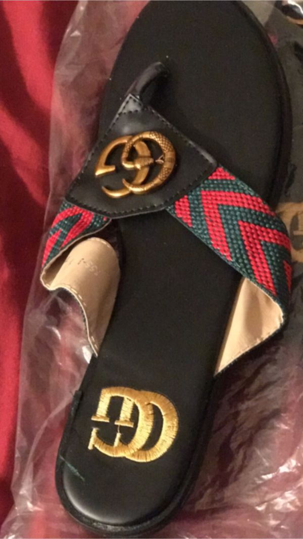 fef9128fb Gucci flip flops for Sale in Pittsburg