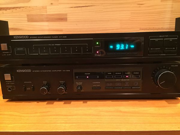 Kenwood KA-32B Stereo Amplifier & KT-42B Tuner for Sale in Schaumburg, IL -  OfferUp